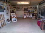 and hey presto a garage is miraculously turned into a gallery